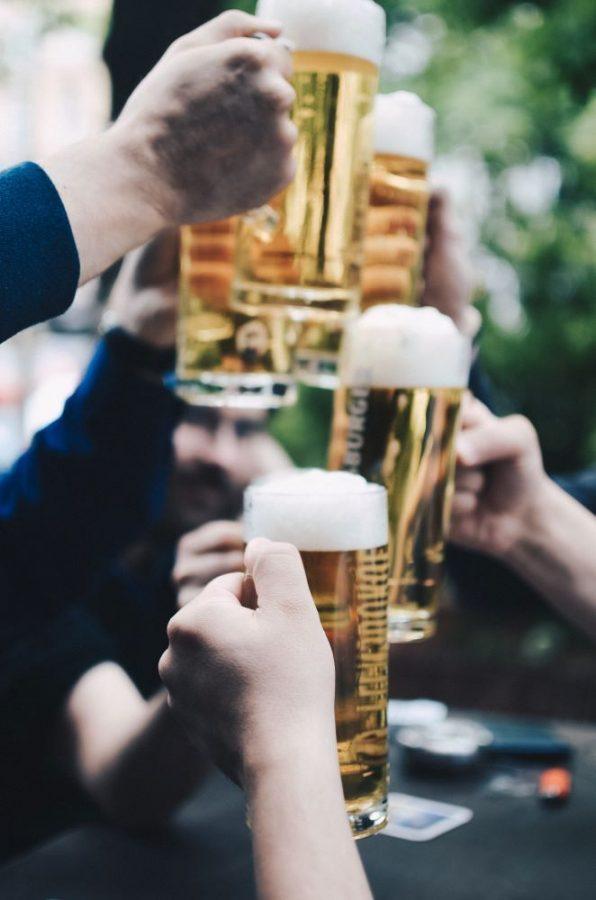 people drinking beers in st augustine