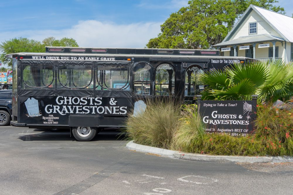 ghost tour in st augustine