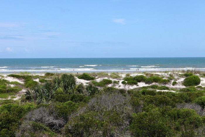 An Ocean Gallery St. Augustine beachfront condo view