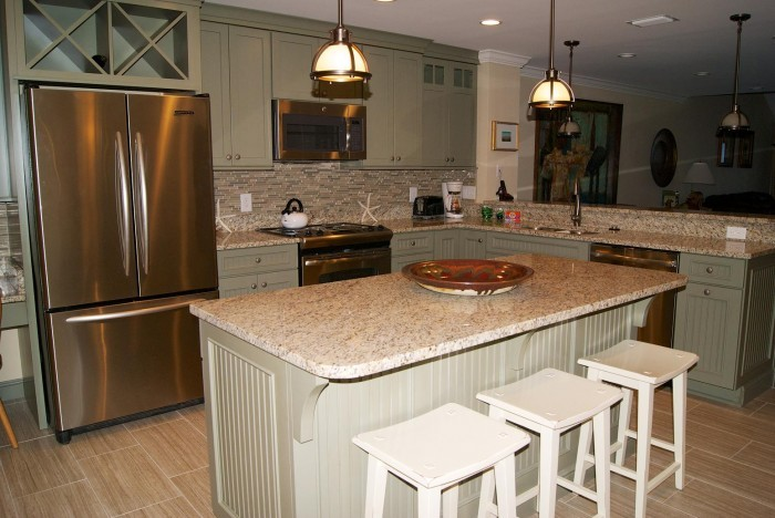 Interior kitchen of rental in St. Augustine FL