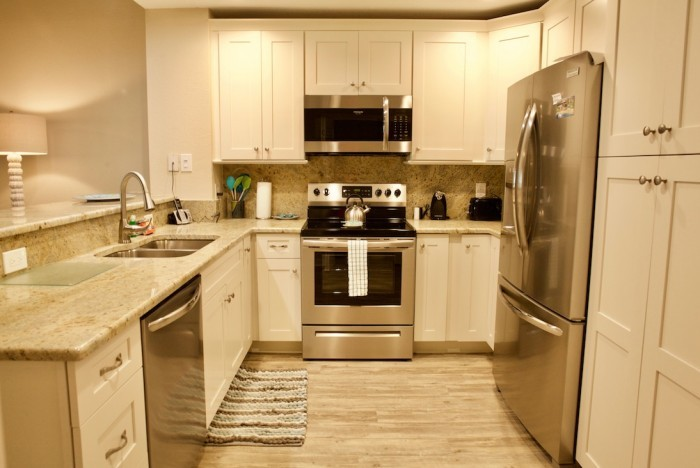 Kitchen of a St. Augustine condo rental